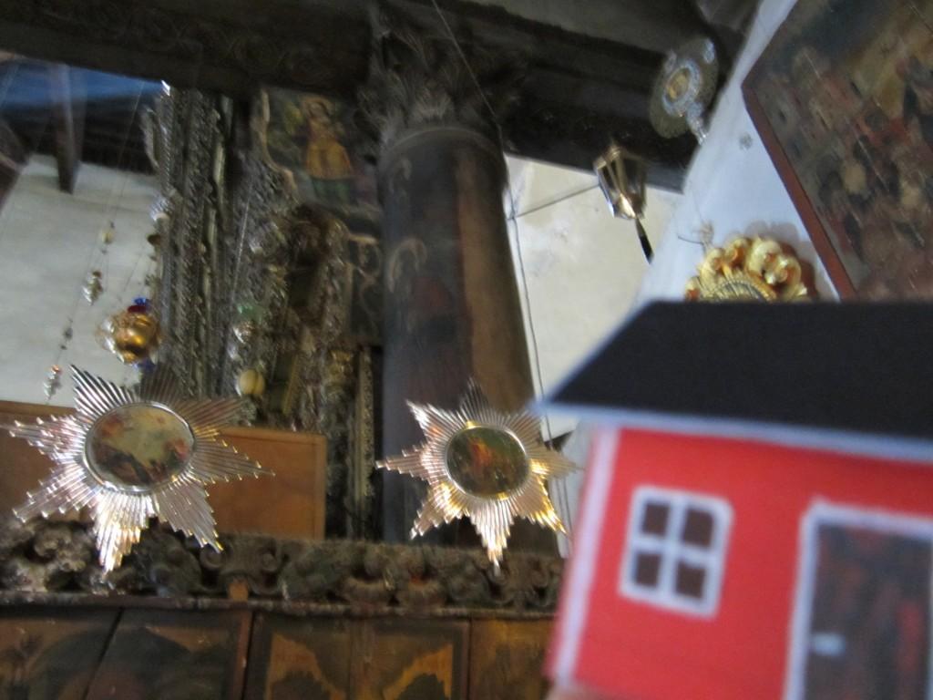 John-Olof Vinterhav brought Moonhouse #2.23 to the Church of nativity in Bethlehem in June 2013