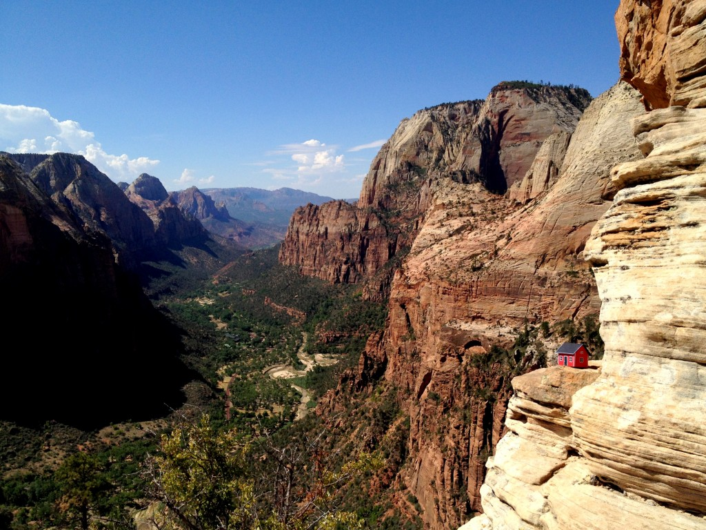 Angels Landing - Zion National Park UT 20130817 #2.19 Robin Lilja