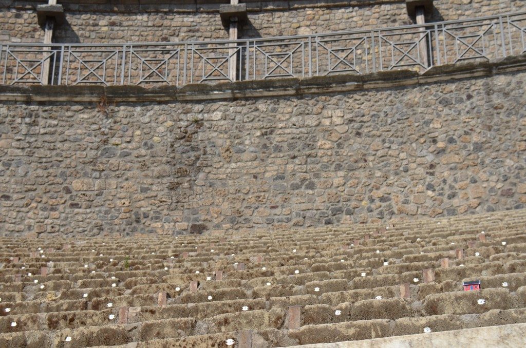 Pompeii - Italy - Theatre - July 22