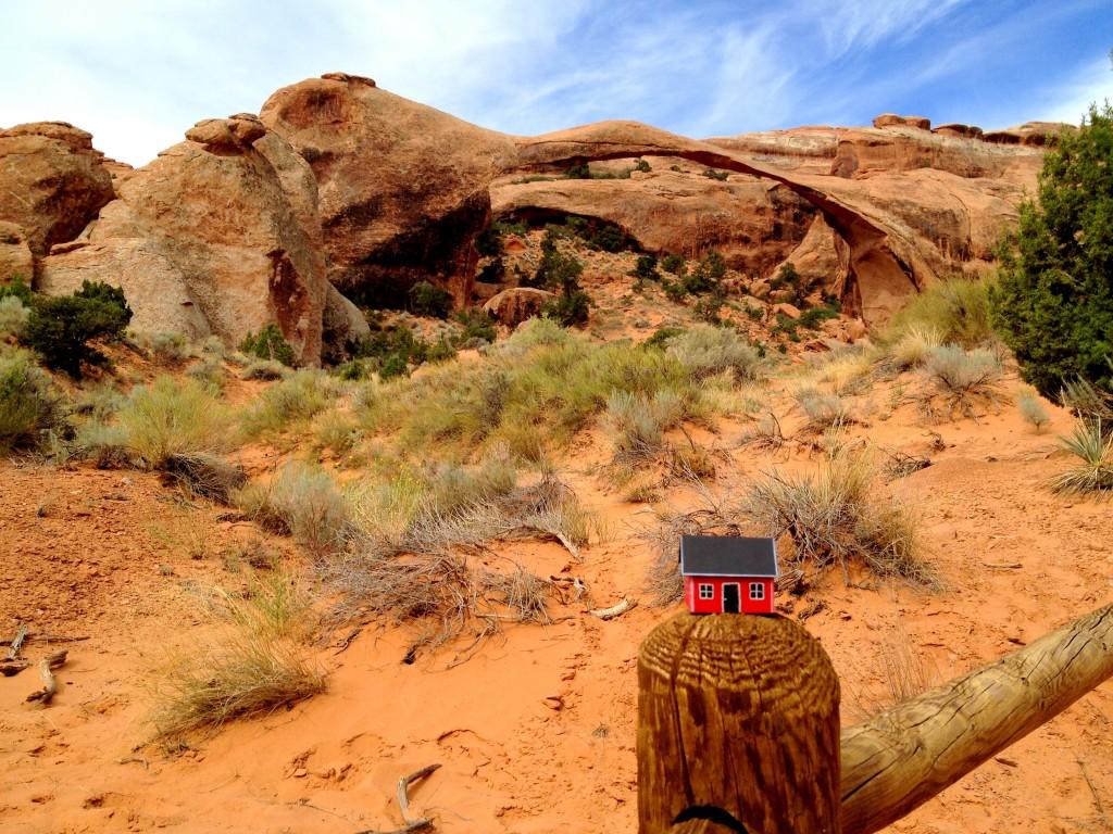 Landscape Arch - Archers National Park UT 20130821 #2.19 Robin Lilja